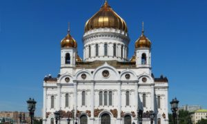 Cathedral of Jesus Christ the Saviour Moscow
