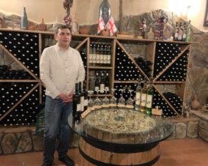Wine cellar at Chateau Mukhrani