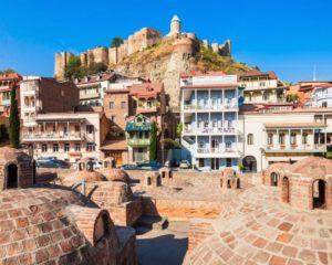 Narikala Fortress and sulfuric baths