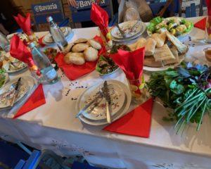 Traditional Georgian lunch