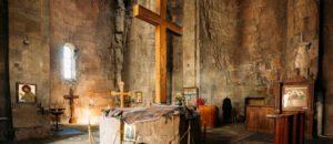 Inside the Jvari Monasery