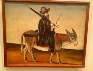 Peinture de Nico Pirosmani au Musée Sighnaghi