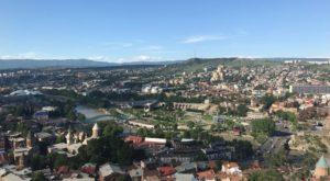 Vue de Tbilissi