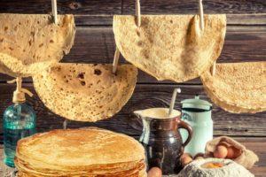 Mandrogi pancakes