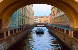 Moika Canal St Petersburg