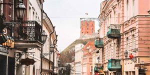 Castle Street in Vilnius