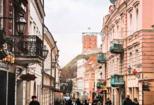 Castle Street, Vilnius