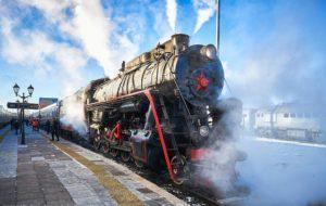 Train rétro «Ruskeala Express»