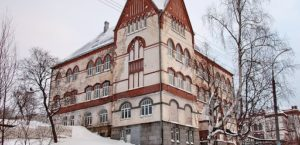 Art Nouveau buildings in Sortavala