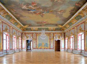 Intérieur du palais Rundale
