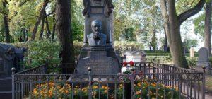 La tombe de Dostoïevsky