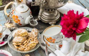 Cérémonie de dégustation du thé a Samovar
