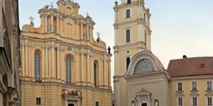 The University buildings in Vilnius
