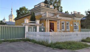 Maison en bois à Vologda