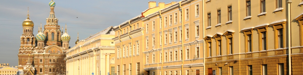 Architecture of St. Petersburg Tour