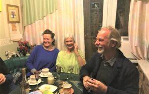 Tea party avec une famille russe