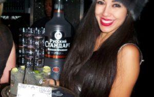 Cocktails à la vodka russe